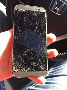 Telus/Koodo HTC One M9 - Cracked Screen
