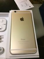 Iphone 6 Plus 16gb Gold w/8 case  $580