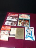 Collection de livres sur le Hockey NHL Bobby Hull