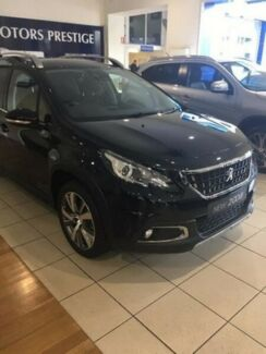 2016 Peugeot 2008 A94 Allure Black 4 Speed Sports Automatic Wagon