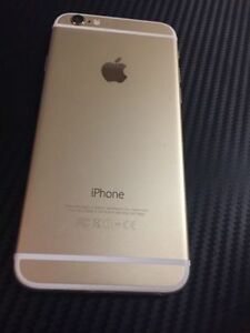 iPhone 6 128gb GOLD UNLOCKED Perfect Condition
