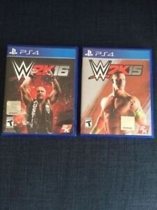 Sony PS4 Game Bundle: WWE 2K15 & 2K16