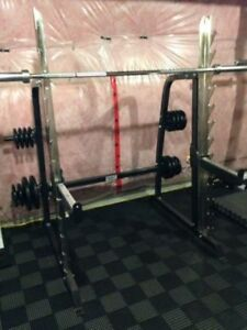 Northern Light Power Squat Cage Multi Press Rack no weight bench