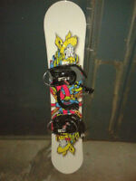 COMPLETE KIT* Snowboard Firefly *GOOD QUALITY* NEGOTIABLE