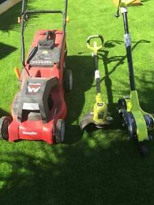 Lawn mower,edger and whipper snipper Yangebup Cockburn Area Preview