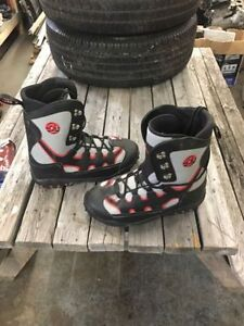 Pair of size 12 snowboard shoes