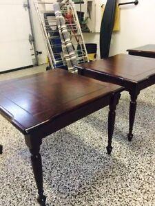 Tables basses salon -meuble en acajou/ Coffee tables (furniture)