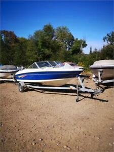 VERY CLEAN 2007 BAYLINER 175BR WITH 3.0L MERCRUISER