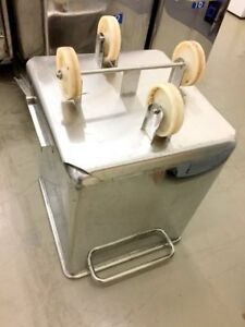 Stainless Steel Bins with Castors