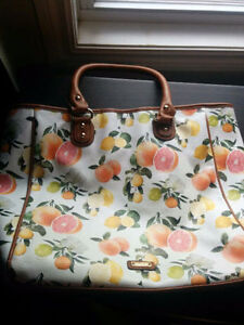 Nice floral pattern Aldo bag, large size. Around  20 inches x 15