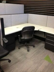 Pre Owned Haworth Premise Workstation 100+ available