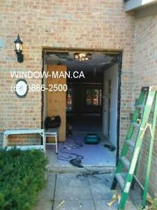 96inches 8foot Double Door Wrought Front Iron  Installation