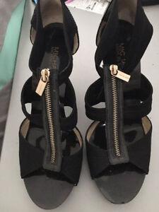 Black Michael Kors High Heel Sandals