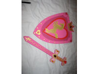 Legoland Princess Sword and Shield - £8