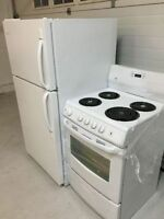Compact refrigerator and range like new condition!