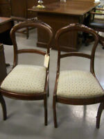 Pair of Victorian Side Chairs