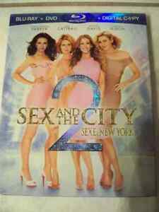 DVD--SEX AND THE CITY 2--BLU-RAY--VIEWED