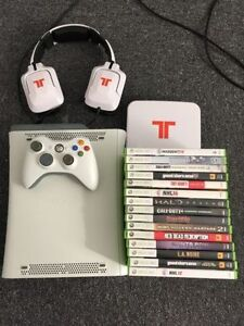 XBOX 360 + HEADSET + GAMES