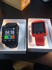 Smart Watch noir ou rouge (Montre intelligente)