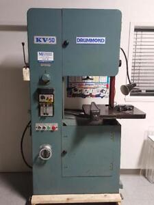 Vertical Band Saw Drummond Kv-50
