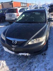 Mazda 6, 128700KM, sans rouille et en excellente condition