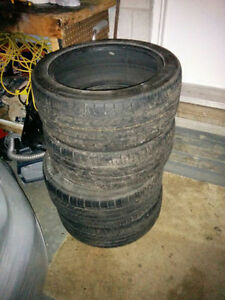 All season NEXEN Tires - 80 thread 225/45R17: 4 tire set Cambridge Kitchener Area image 1