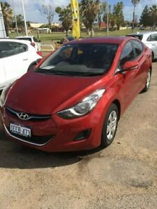 2013 Hyundai Elantra MD2 Active Red 6 Speed Sports Automatic Sedan Beresford Geraldton City Preview