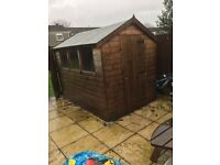 High Quality Garden Shed 6x8 bought from Logspan