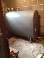 Oil Furnace / Heating Oil Tank REMOVAL