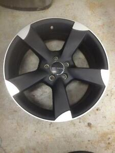 "17"" Core Racing rims.  New.  5 x 100 mm bolt pattern."