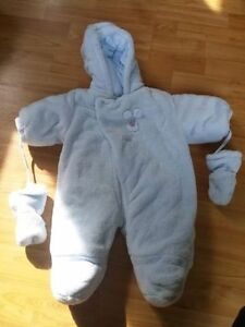 Absorba infant snowsuit
