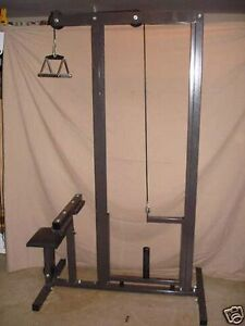 Body Smith lat pull down low pulley row