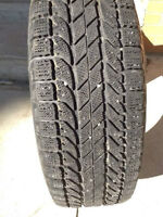 4 BFGOODRICH WINTER TIRES 235/70R16