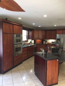 Kitchen cabinets very  good shape 1200 firm