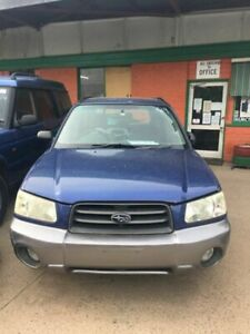 2003 Subaru Forester MY03 XS Blue 4 Speed Automatic Wagon Werribee Wyndham Area Preview