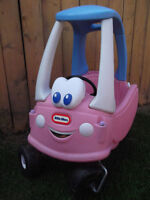 Pink Little Tikes Cozy Coupe