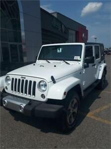 BRAND NEW 2018 JEEP WRANGLER UNLIMITED SAHARA - 0% AVAILABLE!