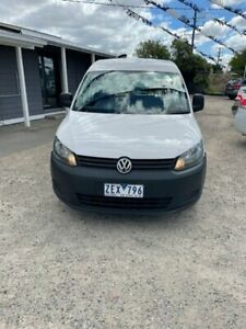 2011 Volkswagen Caddy 2K MY12 TSI160 White 5 Speed Manual Van Morwell Latrobe Valley Preview