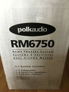 Polk Audio RM6750 5.1 Home Theater Speaker System