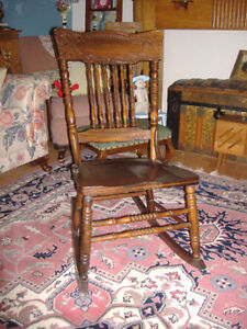 Antique press back dining chairs - several to choose from! Kitchener / Waterloo Kitchener Area image 5