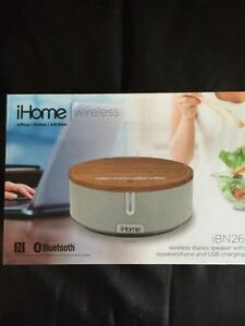 iHome iBN26 Bluetooth Stereo Speaker System Brand new in box