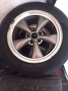 Will pay for two Bullet 17 inch rims & like new 245x45 tires
