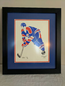 Original Gretzky Painting from 1982