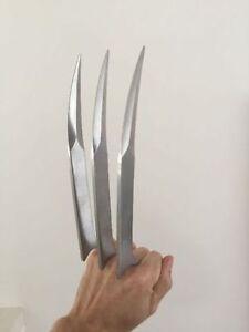 Lames pour déguisement d'halloween Wolverine