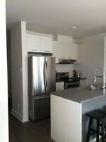 Sunny Condo in Dorval appliances included! Available now!