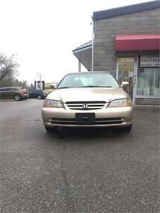 2001 Honda Accord Sdn EX