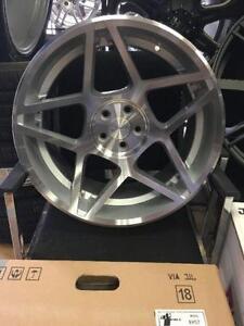 Four New 18 inch AVID52 Wheels -- 3SDM Reps -- 5x100