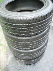 LIKE NEW - 275 45 19 - CONTINENTAL - ALL SEASON TIRES - SET OF 4