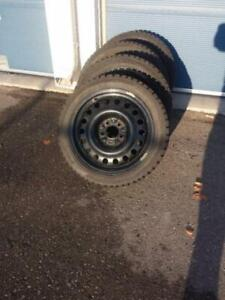 FORD TRANSIT CONNECT FOCUS VOLVO WINTER TIRES  195/65R15 5 x 108
