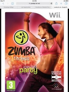 Zumba game for Wii